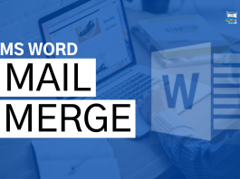 What is mail merge and steps?