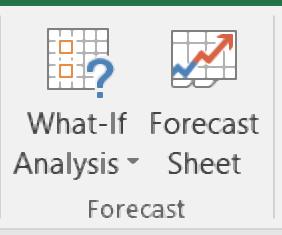 how to use forecast option