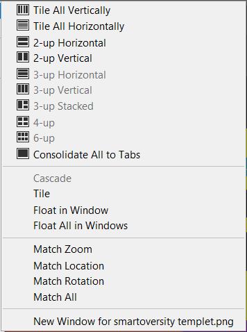 window option