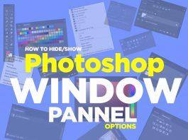 how to use photoshop option