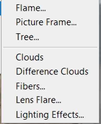 photoshop lighting effects filter